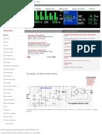 Carregador de Baterias Automático - Electrónica - Esquemas - TV - Áudio - Di