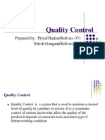 Quality Control Ppt