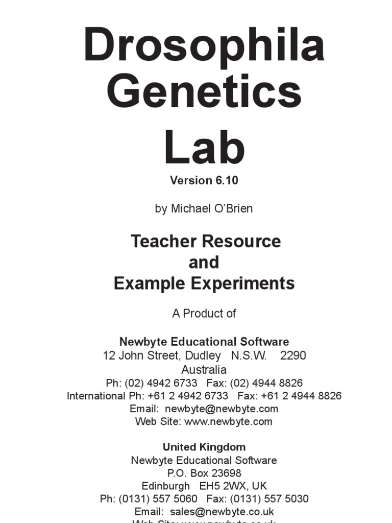 drosophila genetics lab report introduction pdfeports web fc com drosophila genetics lab report introduction