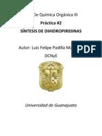 Reporte 2 Lab Orgánica