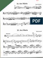 Ave Bach Schubert Cello Duet