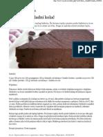 COKOLADNI Savršeni cokoladni kolac