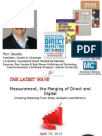 Measurement -- The Merging of Direct and Digital -- 04192012 -- Final