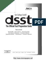 DSST-The Official Test Preparation Guide