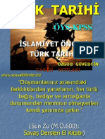 Orta Asya Türk Tarihi Slayt Sunumu