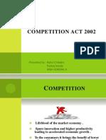 Panku Competition Act 2002