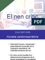 Pacient crític 2007-2008