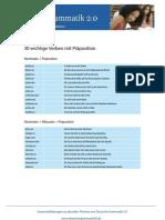 Liste-Verben-mit-Präposition-Der-einfache-Satz1