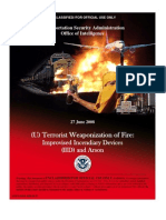 0806 - Terrorist Weaponization of Fire-Improvised Incendiary Devices & Arson - DHS