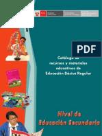 MATERIALES EDUCATIVOS DE EDUCACION SECUNDARIA