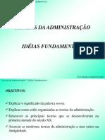 Capítulo 2 - Teorias da Administração