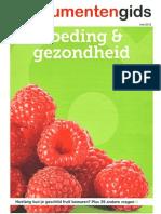 Voeding en Gezondheid - Consumentengids - Mei 2012