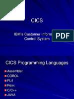 Intro to CICS