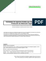 Listado Protecciones TOV_2012_2