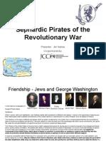 Sephardic Pirates of the Revolutionary War