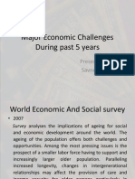 Major Economic Challenges During Past 5 Years