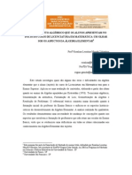 TENDENCIAS DO ENSINO DE ÁLGEBRA