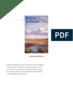 Libro Historia de Mexico