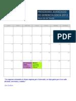 Cronograma PAG-2012