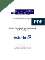 Operations Esterline Case Report BOG1 04 Feb 2012