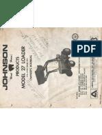 Johnson Loader Manual