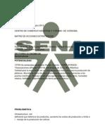 Plan de acción estratégico 20122