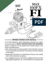 160 Fx Fi Manual
