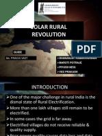 solar rural revolution
