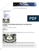 The CIA & Al Qaeda the Six Billion Dollar Ruse in the Global War on Terror