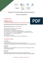 PROGRAMA 2° COLOQUIO INTERCONTINENTAL RED RIGPAC