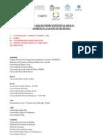 2° COLOQUIO INTERNACIONAL RIGPAC PARTICIPANTES