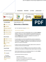 Entrevista a Ciberteka - DigitalPYMES