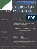 BiM Seminar Series Flyer