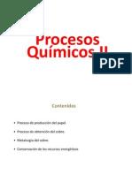 Clase de Procesos químicos 2° parte  PDF