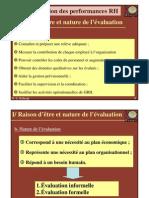 Evaluation Des Performances Rh