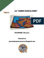 Patrones Falda Sobre Pantalones Talla L. Paramipequeconamor