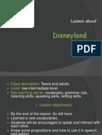 Disneyland Task