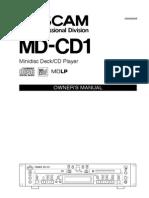 MD CD1 Manual
