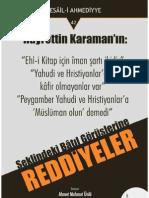 Cübbeli Ahmet Hoca - Reddiyeler