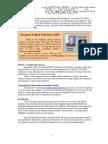 Methuselah Foundatio Newsletter 12-07
