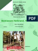 Voorstelling bosklassen 2012