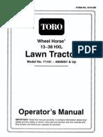 toro wheelhorse demystification electical wiring diagrams for all rh scribd com Turf Master Riding Mower Wiring Diagram Toro Riding Mower Wiring Diagrams