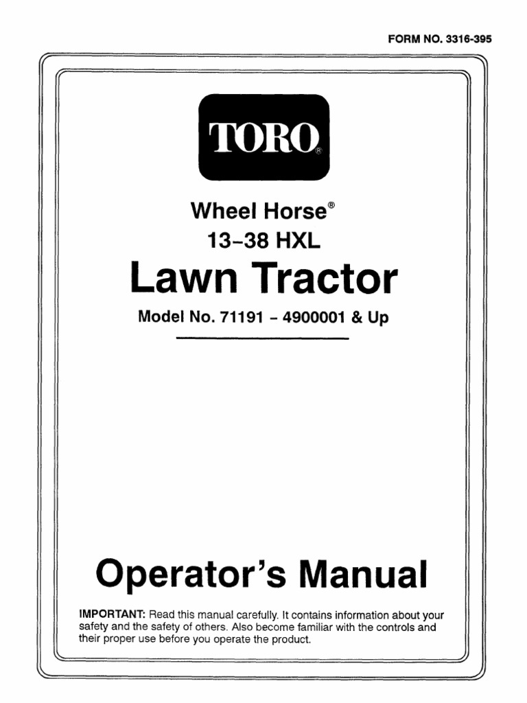 Toro Electrical Demystification Guide Switch Relay