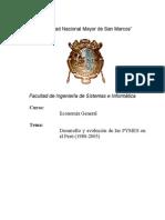 Desarrollo y evolución de las Pymes en el Perù 1980-2005 Vers 3