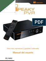 User Manual So Speaky PVR SP