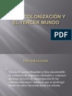 La descolonización y el tercer mundo