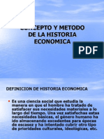 1. Concepto y Metodo de La Historia Economica (1)