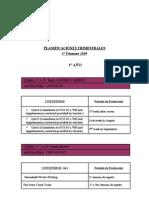 2º Term Plannings