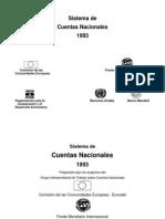 Sistema de Cuentas Nacionales 1993