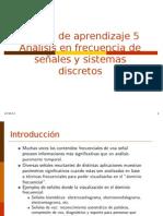 Unidad de Aprendizaje 5-Transformadas Discretas